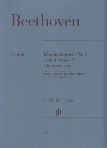 Beethoven, Ludwig van : Concerto n. 3 op. 37 per Pianoforte e Orchestra, riduzione per 2 Pianoforti. Urtext