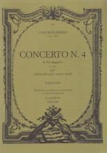 Boccherini, L. : Concerto do G 481, per Violoncello solo, Corni e Archi.  Partitura tascabile