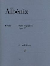 Albéniz, Isaac : Suite spagnola op. 47, per Pianoforte. Urtext
