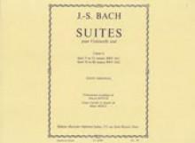 Bach, J.S. : Suite per Violoncello solo, vol. III: BWV 1011, 1012. Urtext