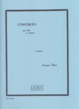 Ibert, Jacques : Concerto per Flauto e Orchestra, riduzione per Flauto e Pianoforte