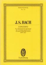 Bach, J.S. : Concerto per 3 Clavicembali, Archi e Basso continuo BWV 1063. Partitura tascabile
