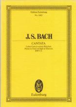 Bach, J.S. : Cantata BWV 11, Lobet Gott in Seinen Reichen.Partitura tascabile