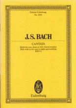 Bach, J.S. : Cantata BWV 6, Bleib bei uns, denn es will Abend werden . Partitura tascabile