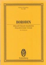 BORODIN, A. : Polovtsian Dances, per Orchestra. Partitura tascabile