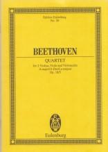Beethoven, L. van : Quartetto d'archi op. 18 n. 5. Partitura tascabile