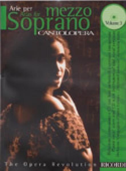 AA.VV. : Cantolopera. Arie per Mezzosoprano, vol. III. Con CD