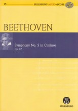 Beethoven, L. : Sinfonia n. 5 op. 67 in do minore. Partitura tascabile + Cd