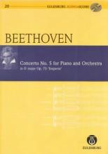 Beethoven, L. van : Concerto per Pianoforte e Orchestra nr. 5 op. 73, Imperatore. Partitura tascabile + Cd