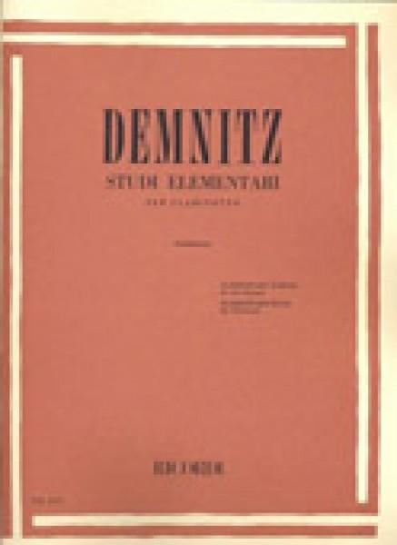 Demnitz, F. : Studi elementari per Clarinetto (Garbarino)