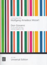 Mozart, Wolfgang Amadeus : Don Giovanni, per 2 Violini o Flauti. Da un'edizione del 1809 ca.