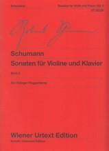 Schumann, R. : Sonate per Violino e Pianoforte, vol. II. Urtext