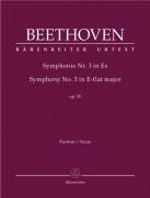 Beethoven, L. van : Sinfonia n. 3 in mib, op. 55 Eroica. Partitura. Urtext