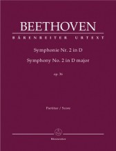 Beethoven, L. van : Sinfonia n. 2 in re, op. 36. Partitura. Urtext