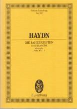 Haydn, J. : Die Jahreszeiten (Le stagioni). Partitura tascabile