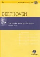Beethoven, L. van : Concerto op. 61 per Violino e Orchestra. Partitura tascabile + Cd