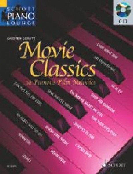 AA.VV. : Movie Classics. 18 Famous Film Melodies for Piano