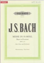 Bach, J.S. : Messa in si minore, per Canto e Pianoforte. Urtext