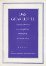 AA.VV. : Das Gitarrespeil: Ein Unterrichtswerk vom Anfang bis zur Meisterschaft, von Bruno Henze, heft 1a