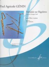 Genin, P.A. : Fantasia sul Rigoletto di Verdi op. 19, per Flauto e Pianoforte