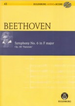 Beethoven, L. : Sinfonia n. 6 op. 68. Partitura tascabile. Partitura tascabile + Cd