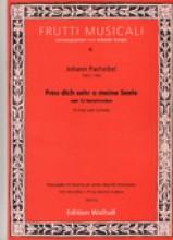Pachelbel, J. : Freu dich sehr o meine Seele, cum 12 Variationibus, für Orgel (oder Cembalo)