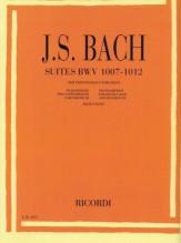 Bach, J.S. : 6 Suites per Violoncello solo BWV 1007-1012, trascrizione per Contrabbasso