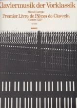 Corrette, M. : Premiere livre de Clavecin