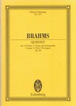 Brahms, J. : Quintetto op. 88. Partitura tascabile