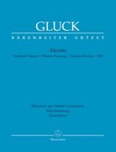 Gluck, W. : Alceste, per Canto e Pianoforte. Urtext