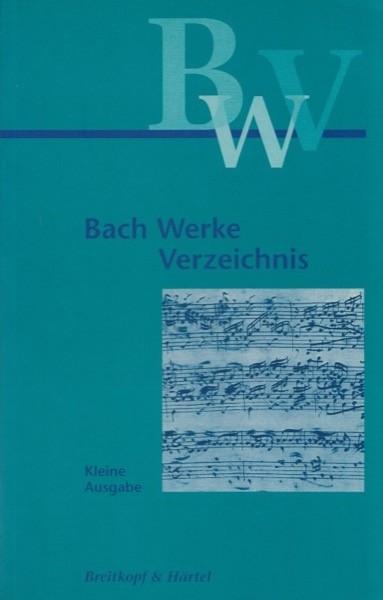 Dürr, A. - Kobayashi, Y. : Bach Werke Verzeichnis. Kleine Ausgabe