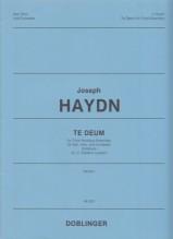 Haydn, J. : Te Deum für Fürst Nicolaus Esterházy. Partitura