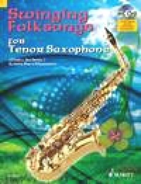 AA.VV. : Swinging Folksongs for Tenor Saxophone + CD