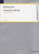 Rössler, F.A. (Rossetti) : Concert for Bassoon and Orchestra. Reduction for Basson and Piano