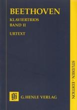 Beethoven, L. van : Klaviertrios, vol. 2. Partitura tascabile. Urtext