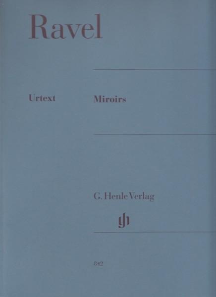 Ravel, M. : Miroirs, per Pianoforte. Urtext