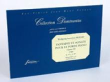 Mozart, W.A. : Fantaisie et Sonate pour le Fortepiano. Op. XI (K 475 - K 457) (Vienne, 1785). Facsimile