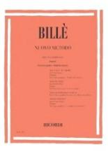 Billè, J. : Nuovo metodo per Contrabbasso, parte II, vol. 6: corso pratico; studi da concerto