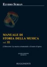 Surian, E. : Manuale di storia della musica. Vol. 3: l'Ottocento