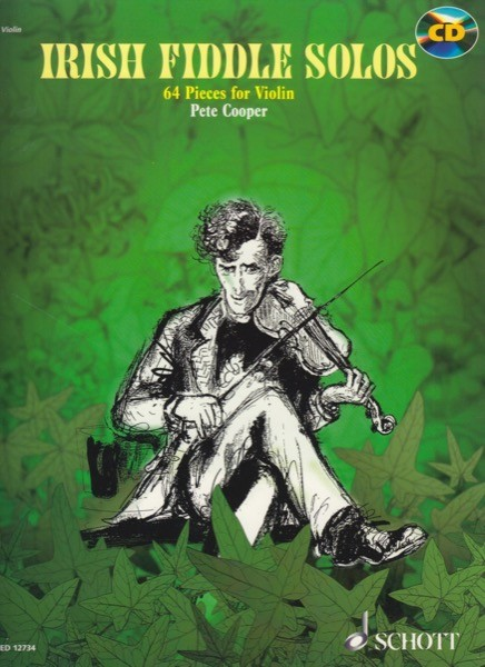 AA.VV. : Irish Fiddle Solos. 64 Traditional Pieces for Violin
