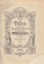 Beethoven, L. v. : Trios für Pianoforte, Violine und Violoncello, vol. 1. Partitura