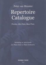 Munster, P. v. : Repertoire Catalogue. Piccolo, Alto Flute, Bass Flute
