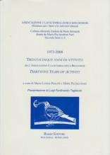 AA.VV. : 1973-2008. Trentacinque anni di attività dell'Associazione Clavicembalistica Bolognese