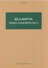 Bartók, B. : Concerto per Pianoforte e Orchestra nr. 3. Partitura tascabile