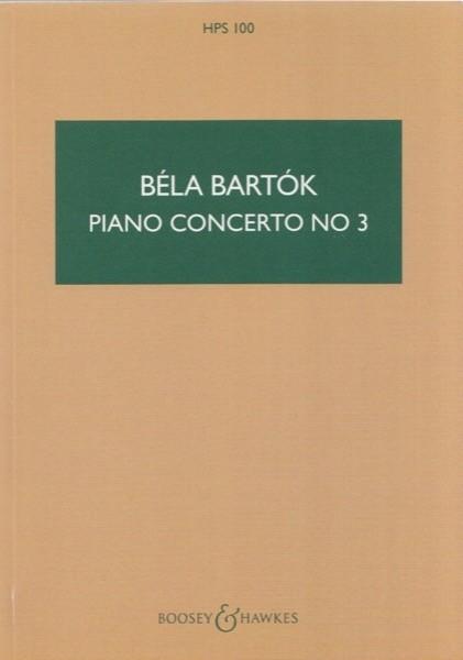 Bartók, Béla : Concerto per Pianoforte e Orchestra nr. 3. Partitura tascabile