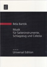 Bartók, B. : Music for Stringed Instruments, Percussion and Celeste. Partitura tascabile
