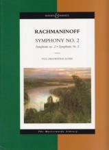 Rachmaninov, S. : Sinfonia n. 2 op. 27. Partitura