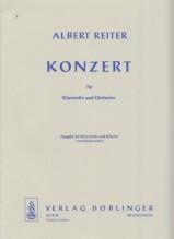 Reiter, A. : Concerto per Clarinetto e Orchestra, riduzione per Clarinetto e Pianoforte