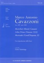 Cavazzoni, M.A. : Recerchari, Motetti, Canzoni libro primo (Venezia 1523): Recercada (Castell'Arquato, II)