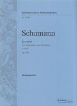 Schumann, R. : Concerto per Violoncello e Orchestra op. 129 in la minore. Partitura tascabile. Urtext